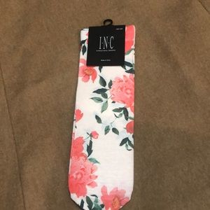 INC Floral Socks One Size Fits New!!